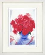 山口英明『薔薇の花束』・ジクレー