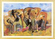 Marijke Cruysberg『Elephants』・