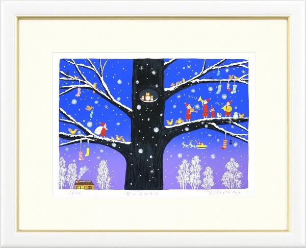 吉岡浩太郎『雪のメロディ』・絵画