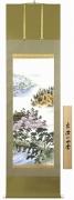竹田寿昌『京洛四季』の掛け軸・掛軸